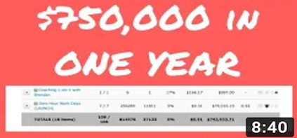 How to go FROM ZERO to $750,000 in ONE YEAR