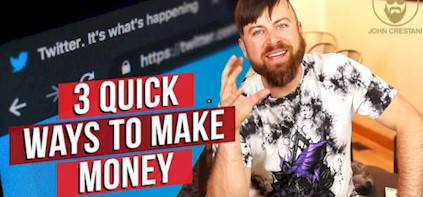 Make $100 Day From Twitter