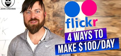 Make $100 Per Day On FLICKR Without Posting Photos