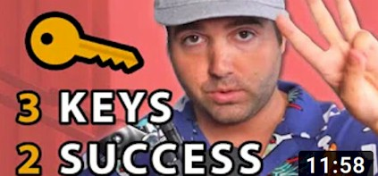 The 3 Keys Tto SUCCESS With Affiliate Marketing